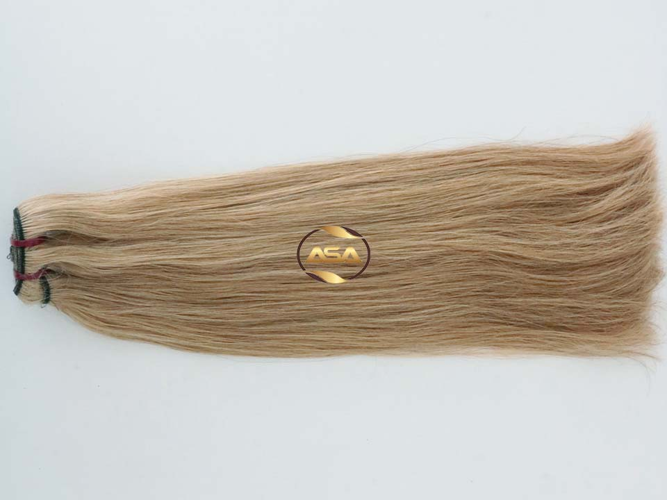 DOUBLE DRAWN COLOR WEFT HAIR