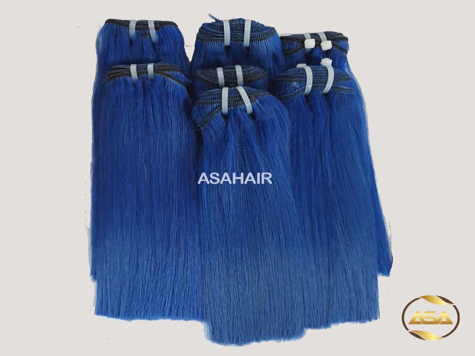 SUPER DOUBLE DRAWN WEFT COLOR HAIR